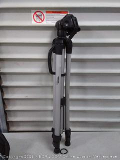 60-Inch Lightweight Tripod with Bag(One Leg Broken/Dented)