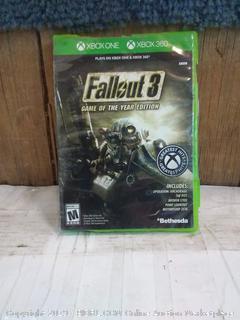 Xbox One Xbox 360 Fallout 3
