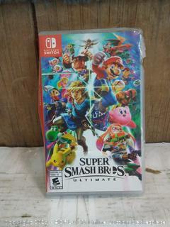 Nintendo Super Smash Brothers ultimate