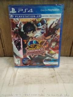 PS4 Persona 5 dancing in Starlight