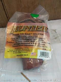 Hunter inside the waist holster