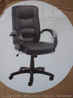 high black chair