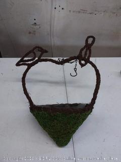 Super moss woven bird feeder, 9.6 in diameter