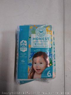 The Honest Company gentle and absorbent super soft liners, 18 diapers (for 35+ lb )