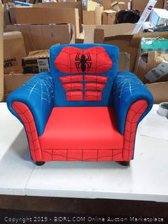 Spider-Man upholstered chair for kids