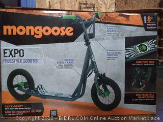 Mongoose Expo freestyle scooter (ages 8 +)