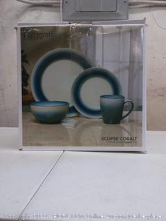 Pfaltzgraff everyday 16-piece dinnerware in Eclipse Cobalt