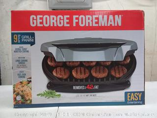 George Foreman grill and panini (9 serving)
