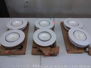 JJC lighting 6 inch, six-pack lights