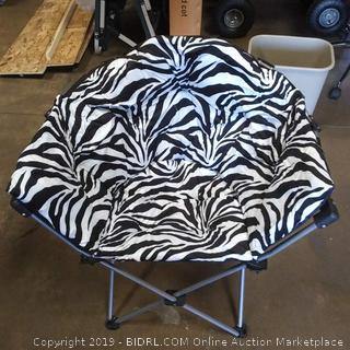Sosa Moon chair color zebra