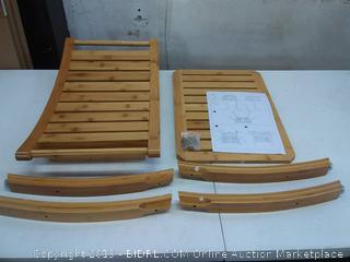 shower bench wood ($79 Online)
