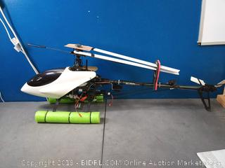 RC ALIGN Trex 600 Helicopter and Controller (online $1135) Please read description of helicopter in photos