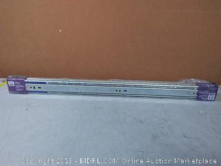 LIBERTY 942405 Soft-Close Ball Bearing Drawer Slide, 24-Inch, 2-Pack