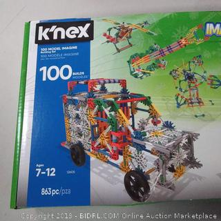 K'nex Imagine 100 Model Building Set