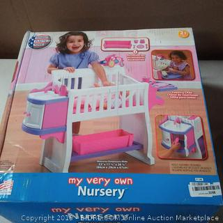 American Plastic Toys My Very Own Nursery, Pink