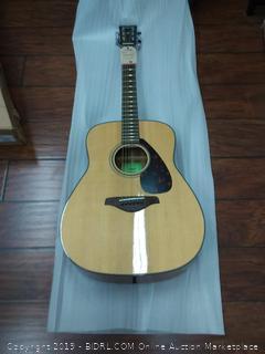 Yamaha FG800 Solid Top Folk Acoustic Guitar - Natural