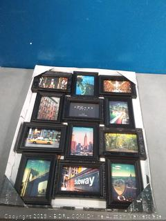 azur home 12 openings picture frame 4 x 6 photos