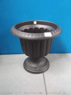 14 inch classic black urn