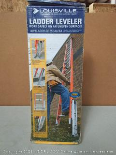 Louisville Ladder Levelok Ladder Leveler Kit, 1 Levelok and 2 Base Units, LP-2220-01