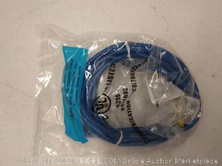 CAT5 blue cord