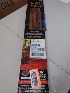 Tivoli II planks, self-adhesive vinyl planks