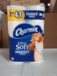 Charmin Ultra Soft cushiony touch, 8 rolls