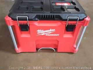 "Milwaukee Packout 22"" Rolling Tool Chest (Online $129.00)"