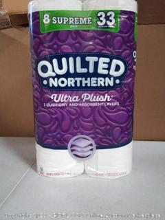 Quilted Northern Ultra Plush Supreme Toilet Paper, 8 Count