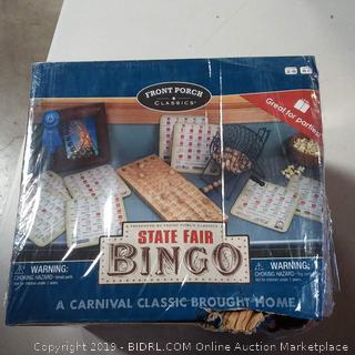 Front porch Classics State Fair Bingo