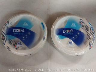 Dixie everyday plates , 88 count
