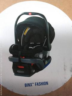 Graco SnugRide SnugLock 35 DLX Infant Car Seat, Binx