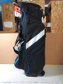 Golf Club Crossover Stand Bag - Blue