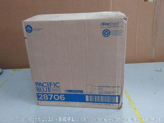 Pacific Blue basic recycle paper towel roll 12 rolls Factory sealed