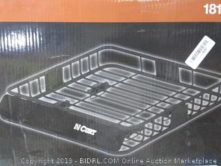 """CURT 18115 Roof Rack Rooftop Cargo Carrier 41-1/2"""" x 37"""" x 4"""" Mounte(Factory Sealed) online $105"""