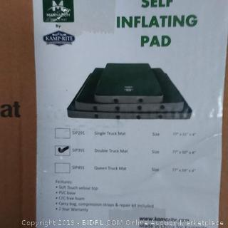 Kamp-Rite self-inflating truck pad