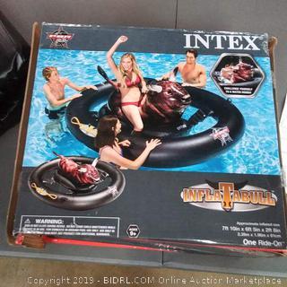 Intex inflatable pool float Bull