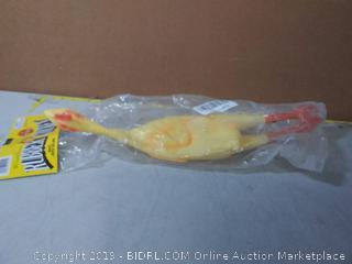 "Loftus The Original World Famous Rubber Chicken, 19"" x 3.5"", Yellow"