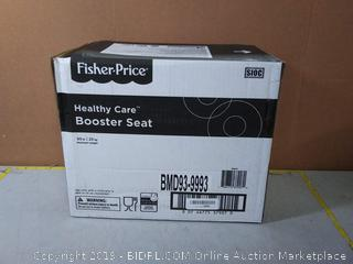 Fisher-Price Healthy Care Booster Seat, Green/Blue(Factory Sealed)
