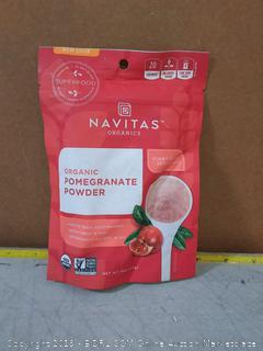 Navitas Organics Pomegranate Powder, 4 oz. Bag — Organic, Non-GMO, Freeze-Dried, Gluten-Free