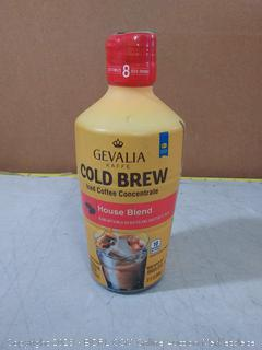 Gevalia Kaffe Cold Brew Iced Coffee Concentrate House Blend