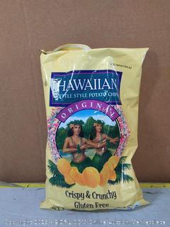 Hawaiian Kettle Style Potato Chips, Original, 7.5 Ounce