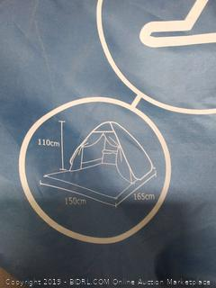 pop up beach tent Sun shelter (missing tent stakes)
