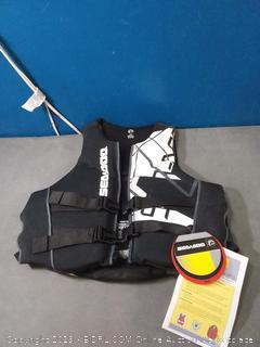 Sea-Doo Men's Freedom PFD Life Jacket - Black - Large