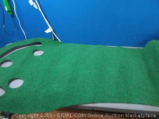 Putt-A-Bout Grassroots Par Three Putting Green (9-feet x 3-feet) online $38