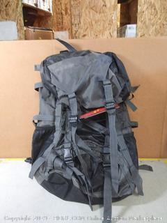 Free Knight 60L Internal Frame Backpack Hiking Travel Backpack Camping Rucksack 60L Extra Large (Black)