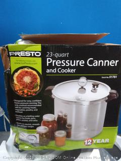 23 quart pressure canner and cooker