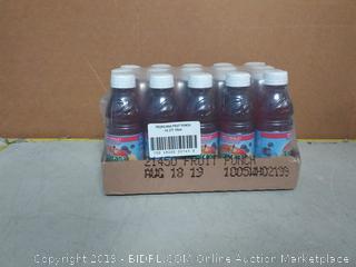 Tropicana fruit punch 10 oz fruit medley