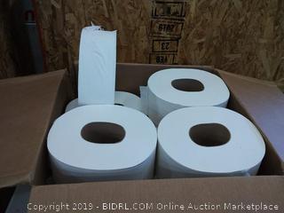"""Scott 07223 JRT Jumbo Roll Bathroom Tissue, 1-Ply, 9"""" dia, 2000ft (Case of 12)"""