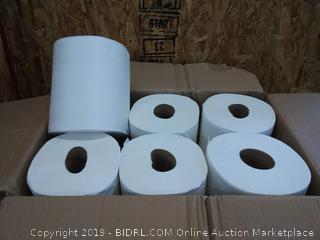 SofPull Centerpull Regular Capacity Paper Towel by GP PRO (Georgia-Pacific), White, 28124, 320 Sheets Per Roll, 6 Rolls Per Case