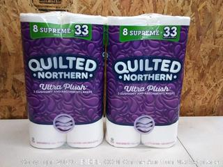 Quilted Northern Ultra Plush Supreme Toilet Paper, 16 Rolls